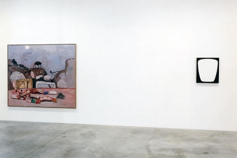 8 Paintings Installation view