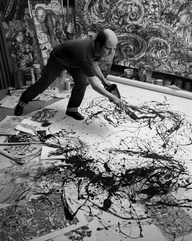 Yasumasa Morimura A Requiem: Theater of Creativity / Self-portrait as Jackson Pollock, 2010