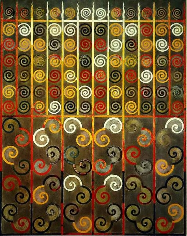 Philip Taaffe Timothy's Gate Transfigured, 1987