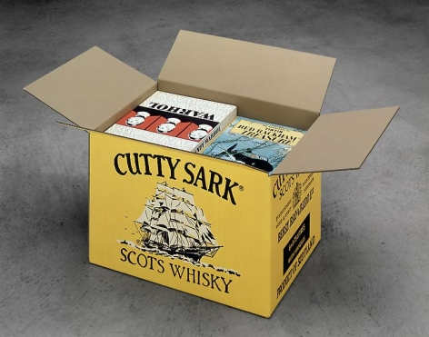 Steve Wolfe Untitled (Cutty Sark Carton), 1992-1993