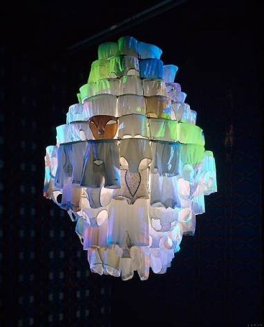 Pipilotti Rist Massachusetts Chandelier, 2010