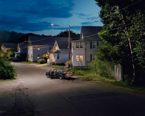 Gregory Crewdson, Untitled (car & spooky garage), 2001