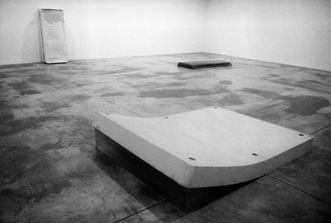 Rachel Whiteread Installation view