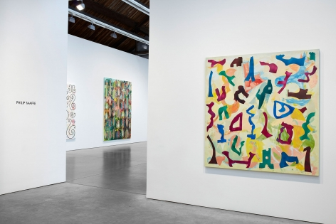 Philip Taaffe, Installation view