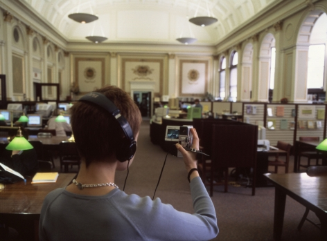 Janet Cardiff, In Real Time, 1991