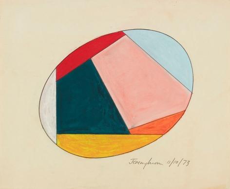 Jeremy Moon, Drawing[11/10/73], 1973