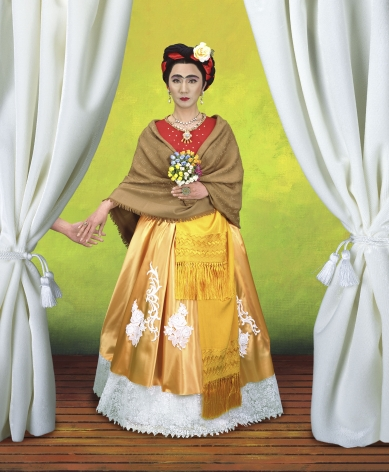 Yasumasa Morimura An Inner Dialogue with Frida Kahlo (Gift 2), 2001