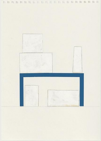 Rachel Whiteread Study for Garage, 2005
