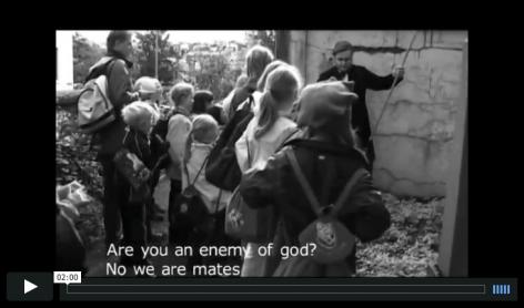 Ragnar Kjartansson Death and the children, 2002