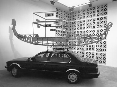 Martin Kippenberger, Installation view