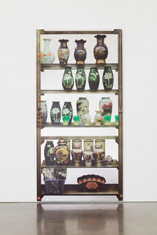 Michelangelo Pistoletto, Scaffali –vasi cinesi (Shelves –Chinese Vases), 2016