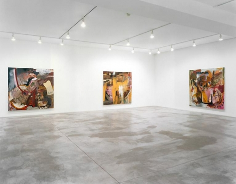 Albert Oehlen Installation view