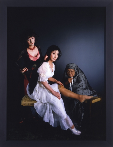 Yasumasa Morimura Three Women, three minds, 2004