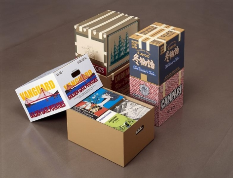 Steve Wolfe Untitled (Vanguard/Cook's/Sapporo/Durham's/Campari Cartons), 2001-2003