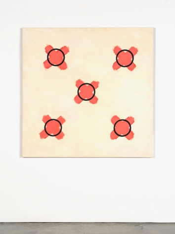 Jeremy Moon, Study for Painting with Crosses, 1961-1962