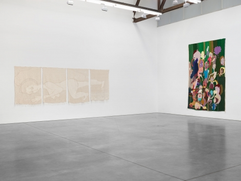 Christina Forrer, Installation view