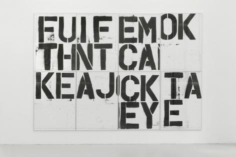 Christopher Wool, Untitled (Billboard Graz), 1991/2019