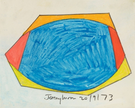 Jeremy Moon, Drawing [20/9/73], 1973