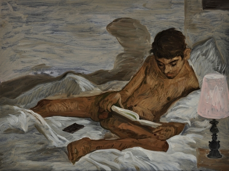 Salman Toor The Reader, 2018