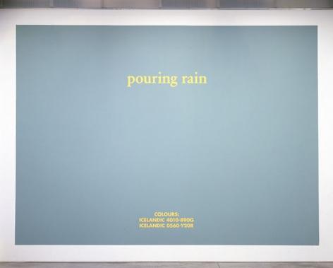 Birgir Andrésson Pouring Rain, 2007