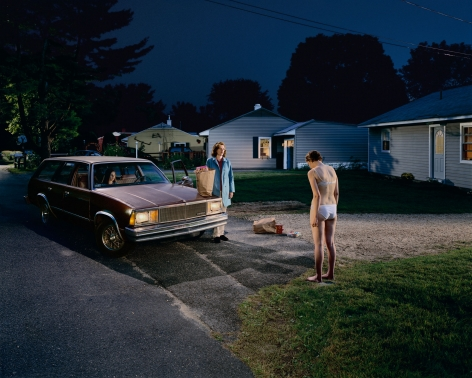 Gregory Crewdson, Untitled (penitent girl), 2001-2002