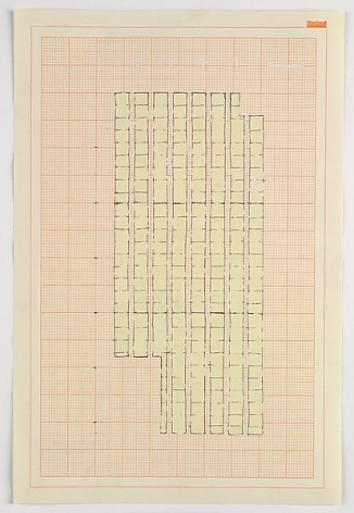 Rachel Whiteread Study for 'Floor', 1992