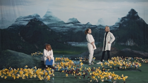Ragnar Kjartansson Figures in Landscape (Sunday), 2018