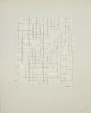 Zarina, Untitled, 1976