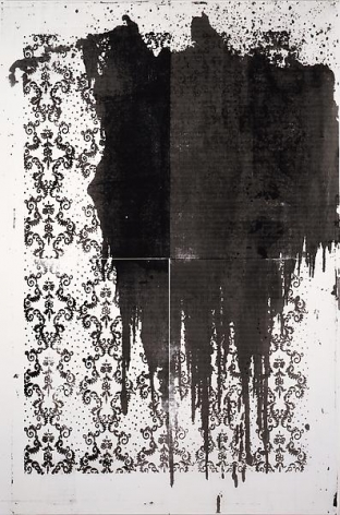 Christopher Wool Little Birds Have Fast Hearts II, 2001