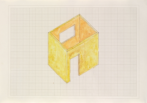 Rachel Whiteread, Study for 'Room,' 1993
