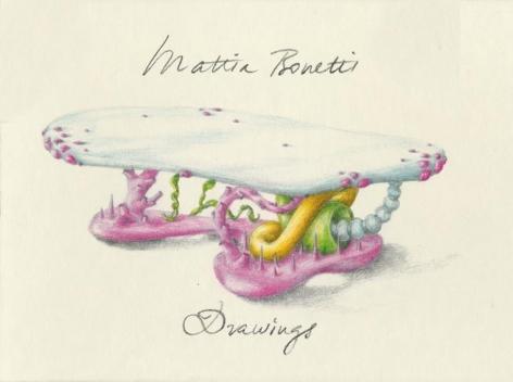 Mattia Bonetti Drawings