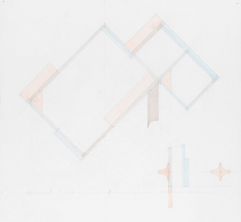 Richard Rezac Study for Untitled (19-02), 2019