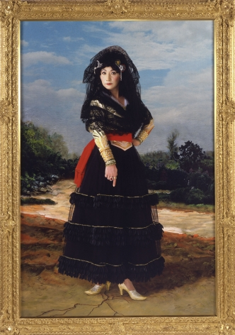 Yasumasa Morimura Dedicated to La Duquesa de Alba / Black Alba, 2004