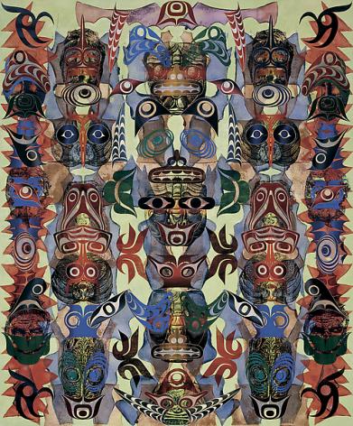 Philip Taaffe Cape Vitus, 2006-07