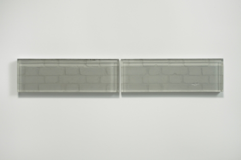 Rachel Whiteread, Untitled (Double Vision I), 2015