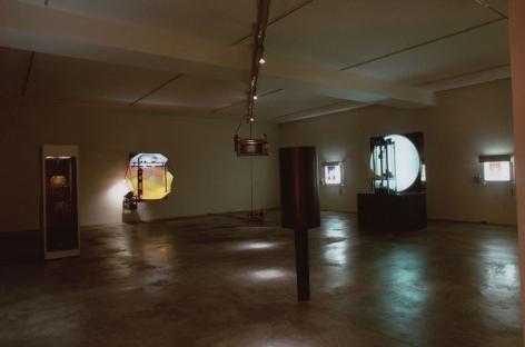 Jon Kessler, Installation view