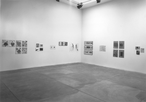 Drawings, Installation view