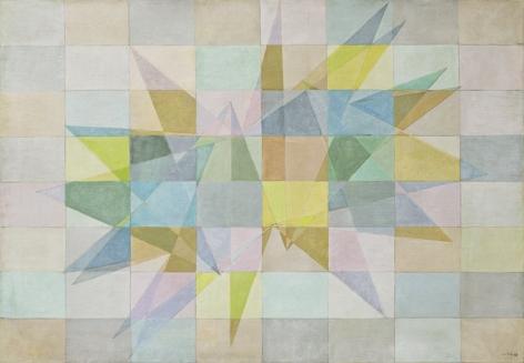 Lygia Clark, Composição (Composition),1953