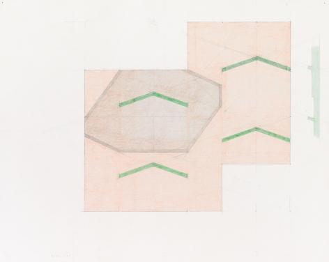 Richard Rezac, Study for Untitled (11-01), 2011
