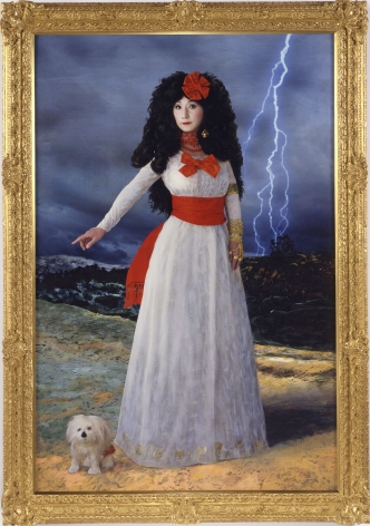 Yasumasa Morimura Dedicated to La Duquesa de Alba / White Alba, 2004