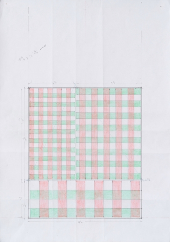 Richard Rezac Pattern Study for Chigi, Pamphili, 2019