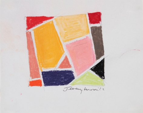 Jeremy Moon, Drawing [72],1972