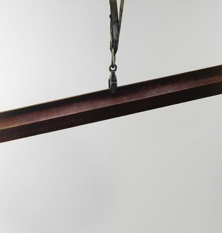 Michelangelo Pistoletto Lavoro – Trave oblique, 2008-2011