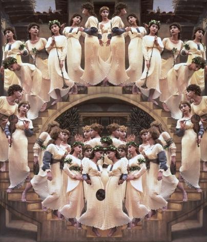 Yasumasa Morimura Angels Descending a Staircase, 1991