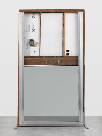 Oscar Tuazon, WALK THROUGH WALLS (Useless Device/Useless Advice), 2017