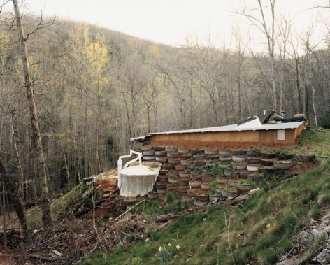 Joel Sternfeld An Earthship at Earthaven Ecovillage, Black Mountain, North Carolina, April 2005, 2005