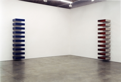 Donald Judd, Stacks