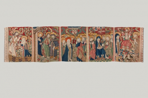 Tapestry with scenes of the Passion, c. 1480
