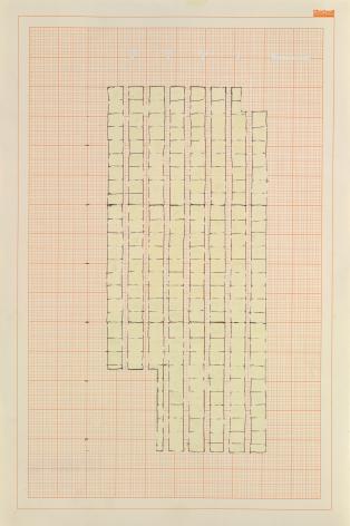 Rachel Whiteread, Study for 'Floor,'1992