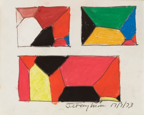 Jeremy Moon, Drawing [17/7/73], 1973
